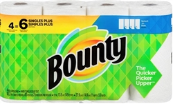 BOUNTY PAPER TOWEL 4=6 ROLLS (OR SIMILAR PRODUCT)