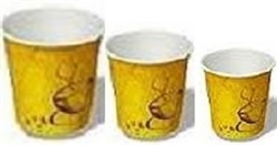CUPS COLOURED PAPER HOT/COLD ALL SIZES (1000)