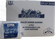 """CHALET"" DINNER NAPKINS SUPERIOR QUALITY (3000)"