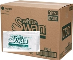 WHITE SWAN LUNCHEON NAPKINS 6000 x 1/4 FOLDED 1 PLY