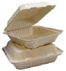 BAGASSE COMPOSTABLE TAKE OUT CONTAINERS