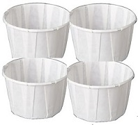 PAPER PORTION CUPS 3.25 ozs 20 x 250 = 5000