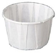 PAPER PORTION CUPS 3.25 ozs 1 x 250