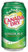 CANADA DRY GINGER ALE. (24)