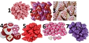 VALENTINES CHOCOLATE & CANDY BULK IN 1KILO BAGS. 7 CHOICES