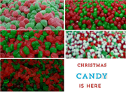 CHRISTMAS CANDY BULK IN 1KILO BAGS. (limited quantities)