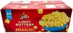 ORVILLE REDENBACHER LIGHT BUTTERY 24 x 80g PACKS