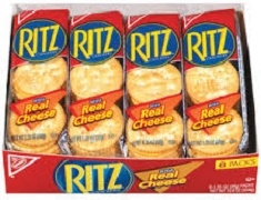 RITZ CRACKERS WITH REAL CHEESE (1) 8