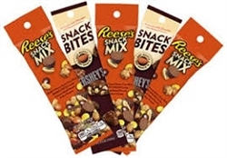 HERSHEY SNACK BITES & MIX 10 PACKS.
