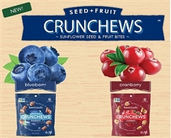 SOMERSAULTS CRUNCHEWS SEED + FRUIT BITES 12 x 113g PACKS / BOX