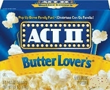 ACT 11 BUTTER LOVERS POPCORN 28 BAGS