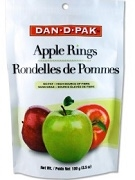DAN-D-PAK APPLE RINGS 100g PACK