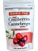 DAN-D-PAK DRIED CRANBERRIES 150g PACK