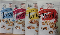 "CREATIVE SNACKS ""DRIZZLERS"" THE BITE SIZE YOGURT PARFAIT 284g PACKS (6)"
