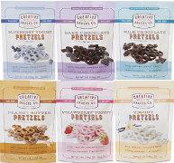 PRETZELS BY CREATIVE SNACKS YOGURT & CHOCOLATE COVERED (12)