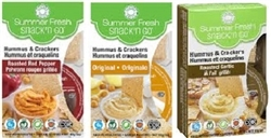 CLOVER LEAF HUMMUS SNACK KITS (6 BOXES)