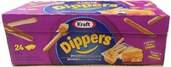 KRAFT DIPPERS BREADSTICKS & CHEESE SPREAD 24 PACKS/BOX