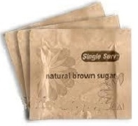 BROWN SUGAR SINGLE SACHETS (1000)