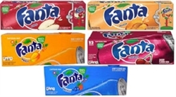 AMERICAN IMPORTED FANTA 12 CANS / CASE
