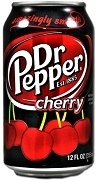 AMERICAN IMPORTED DR. PEPPER CHERRY 12 CANS / CASE