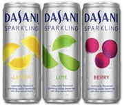 DASANI SPARKLING WATER 12 CANS x 355ml CASE