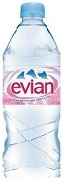 EVIAN MINERAL STILL WATER 24 BOTTLES x 330ml / CASE