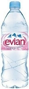 EVIAN MINERAL STILL WATER 24 BOTTLES x 500ml / CASE