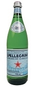 SAN PELLIGRINO SPARKLING WATER 12 x 750ml GLASS BOTTLES / CASE