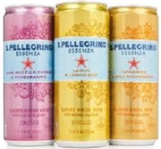 "SAN PELLEGRINO ""ESSENZA"" 24 x 330ML CANS/CASE"