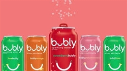 BUBLY SPARKLING WATER 12x 355ml CANS