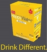 HAPPY WATER CANADIAN MOUNTAIN SPRINGS. WATERBOX 5 LITRES WITH TAP
