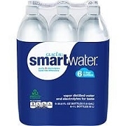 "GLACEAU STILL ""SMARTWATER"" 591ml x 24 BOTTLES / CASE"