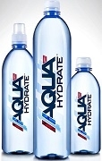 AQUA-HYDRATE PH9+ WATER IN THREE SIZE OF BOTTLES (See Options)