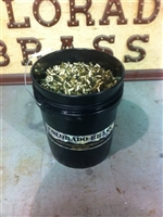 9mm Once Fired Brass Cases 5 Gallon Bucket