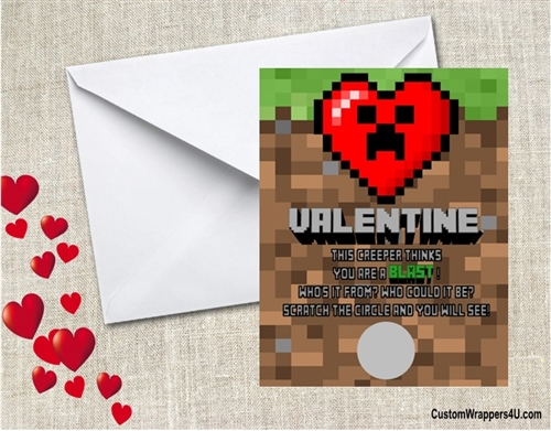 Personalized Valentine S Day Scratch Off Cards
