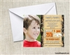 Duck Hunting birthday party invitation with photo