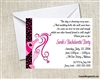 Bachelorette Party Invitation - Pink Champagne & Ring