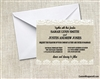 Wedding Invitation - Burlap and Lace 2