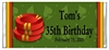 Adult Birthday Candy Wrapper - Poker Chip (Casino Theme)