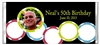 Adult Birthday Candy Wrapper - Poker Chips & Photo