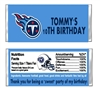 Tennessee Titans Football Candy Wrapper Party Favor