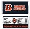 Cincinnati Bengals Candy Wrapper Party Favors