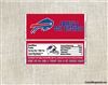 Buffalo Bills Candy Wrapper Party Favors