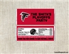 Atlanta Falcons Candy Wrapper Party Favors