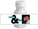 Wedding Mini Bubble Label - Photo &