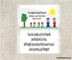 Kindergarten graduation favors popcorn wrappers Preschool kids