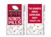 Super Bowl Tic Tacs - Team Name Pills (background color can be changed)
