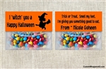 Halloween Treat Bag Topper - Witch