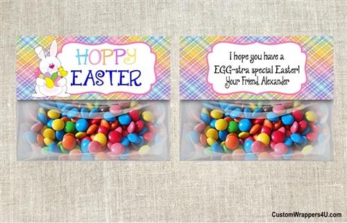 Easter Treat Bag Topper Hoppy Bunny