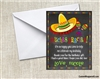 Fiesta thank you card